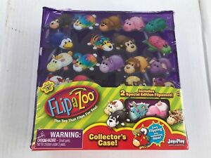Flipazoo Collectors Case Series One Includes Two Special Edition Flipazoo Toys