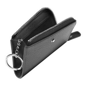 Montblanc Meisterstück Soft Grain Key Pouch 126262 Black Leather new Keyring