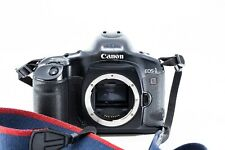canon eos-1 V professional analog 35mm camera perfect works with new ef L lens