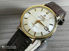 1960s VINTAGE OMEGA CONSTELLATION PIEPAN, 14K GOLD & STEEL 24J AUTOMATIC WATCH