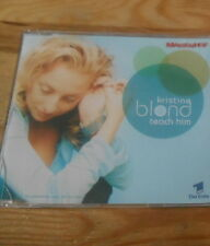 CD Pop Christine Blond - Teach Him (2 Song) Promo WEA EASTWEST sc Marienhof