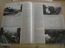 YSTRAD MYNACH HENGOED MAESYCUMMER RAILWAY ARTICLE & PHOTOS TIMETABLES