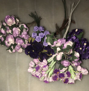 Small Bundles Of Decorative artificial flowers For Crafting