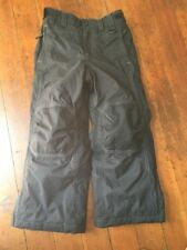 LL Bean Kids Size 6x-7 Black snow  pants boy or girl Insulated Youth PM7
