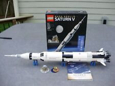 LEGO IDEAS 21309 NASA APOLLO SATURN V SET - 100% COMPLETE (PLEASE READ)