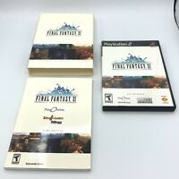 Final Fantasy XI Online (Sony PS2, 2004) ~ Complete w/ Slipcover & Manuals