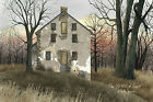 Art Print, Framed, Plaque By Billy Jacobs - Old Mill at Sunset - BJ162