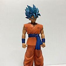 Dragon Ball Z Son Goku blue God Figure Banpresto Japan Authentic Resurrection F