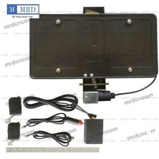 Retractable Electric Powered Front License Plate Frame Shows & Hides w/ Remote