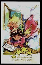 Weihnachten ~1960, Engel holen Brief ans Christkind