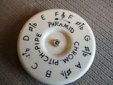 Vtg. Pyramid Pitch Pipe Musical Chromatic Circular 13 Notes C To C Germany