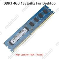 For Micron 4GB 8GB 16GB 32GB PC3-10600 DDR3 1333MHZ DIMM Desktop RAM Memory Lot