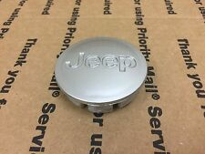 NEW JEEP 1 PIECE CENTER WHEEL RIM HUB CAP LOGO EMBLEM COVER SIGN BADGE 55MM GRAY