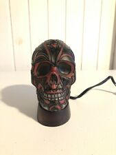 """""ONE OF A KIND"""""" RED SKULL HEAD Mobile Lamp"