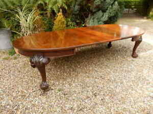 Extending dining table. Victorian, antique, large.