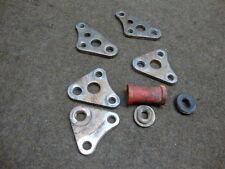 84 HONDA XR250 XR 250 R XR250R FRAME ENGINE MOUNT BRACKETS #9292