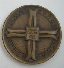 POLISH POLAND 2 CORPS ITALY  MONTE CASSINO WWII MEDAL