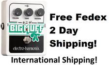 New Electro-Harmonix EHX Big Muff Pi w/ Tone Wicker Guitar Effects Pedal