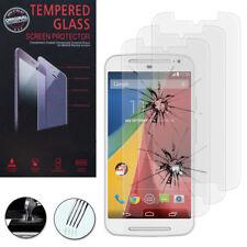 3X Tempered Glass For Motorola Moto G2 (2nd Gen) 2015 Genuine Glass