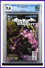 Batman The Dark Knight #5 CGC Graded 9.6 DC March 2012 White Pages Comic Book.