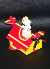Vintage 1966 Peanuts Snoopy Red Baron Plane / Car Htf & Rare Charles Schulz