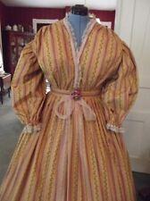 Victorian Attire Civil War 1pc Dress Your Color/Sz Atlanta Dress U buy fabric
