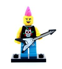 NEW LEGO MINIFIGURES SERIES 4 8804 - Punk Rocker