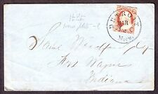 US 11 or 11a 3c Washington on Cover (-028)