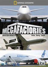 National Geographic - Megafactories - Aviation Wonders (DVD, 2013)