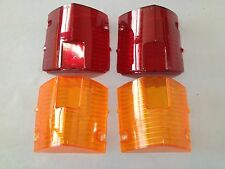 NEW SET OF HOLDEN TAIL LIGHT LENSES 4pcs TO SUIT EH HOLDEN SEDAN AND WAGONS & S4