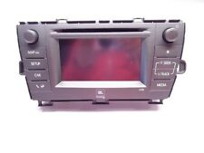 Neuf D'Origine Toyota Prius GPS Satelite Navigation de Culasse Radio Lecteur CD