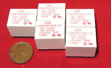 5 pcs CDE Relay, 24V DC / 125V AC 10A Coil, 450mW SPDT PC Mount CDR741CFQPN-24D