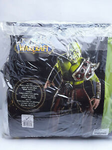 Orc Costume Adult World of Warcraft WOW Halloween Fancy Dress SIZE M UP TO 44