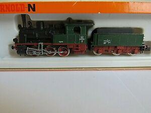 Arnold Spur N Schlepptenderlok 2223/2224 mit OVP + Personenwagen / Kühlwagen