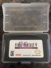 New listing Final Fantasy V Advance (Nintendo Game Boy Advance, 2006)