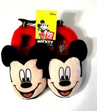 Disney Mickey Mouse Slippers Boy/Girl 90 Years Original Size 9/10