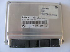 Calculateur ECU BOSCH 0281001445 DDE 7785098 BMW E46 320d 136ch 1999