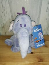 DISNEY HEFFALUMP BARCLAYS BANK PROMOTIONAL SOFT TOY COLLECTABLE WITH TAG