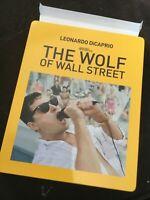 TARGET EXCLUSIVE THE WOLF OF WALL STREET STEELBOOK BLU RAY & DVD STEELBOOK