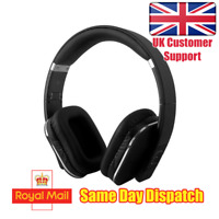 August EP650 (Black) - Bluetooth Headphones with 3.5mm Audio In NFC aptX