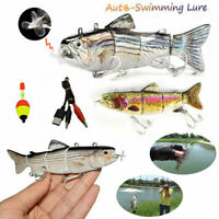 Robotic Swimming Lure Electric Fishing Lure USB Bait Swimbait Crankbait FREE P&P