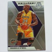 Shaquille O'Neal Panini Mosaic Hall of Fame 2019-2020 #281 LA Lakers NBA Card
