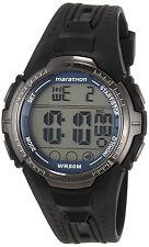 Timex T5K359 Ironman Marathon Digital Mens Watch INDIGLO Backlight Black - New