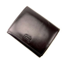 Gucci Wallet Purse Trifold Brown Woman Authentic Used Y1290
