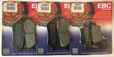 BMW F700GS (2013 to 2018) EBC Organic FRONT and REAR Disc Brake Pads (2 Sets)