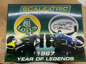 Scalextric 1967 Year for the Legends Boxed Set C2923A