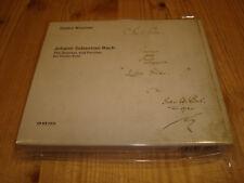 GIDON KREMER Bach Sonatas & Partitas for Violin Solo ECM 2 CD Signed Signiert