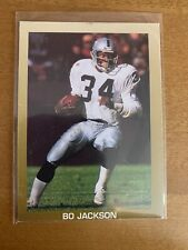 1990 Broder Football Card Bo Jackson Los Angeles Raiders
