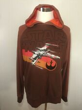 Star Wars X-Wing Hoodie Embroidered Rare Sample One-of-a-kind