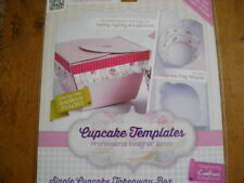 Single Cupcake Fringed Presentation Box Template by Crafters Companion